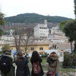 Gubbio Studiolo Blog panorama Palazzo Ducale