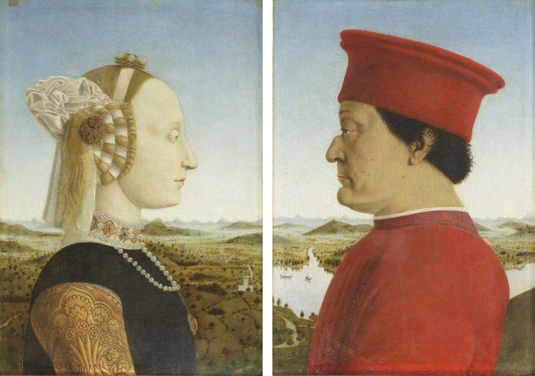 Piero della Francesca - Federico da Montefeltro
